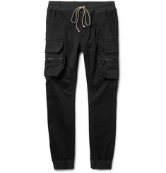 Rick Owens Skinny-Fit Stretch Cotton-Blend Cargo Trousers