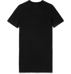 Rick Owens DRKSHDW Slim-Fit Brushed-Cotton T-Shirt