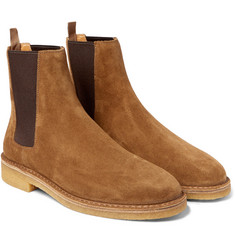 Saint Laurent - Cigar Suede Chelsea Boots