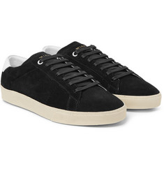 Saint Laurent - SL/06 Court Classic Suede Sneakers