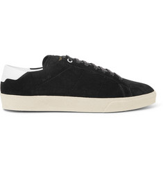 Saint Laurent SL/06 Court Classic Suede Sneakers