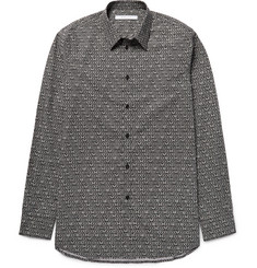Givenchy Slim-Fit Printed Cotton-Poplin Shirt
