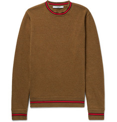 Givenchy Stripe-Trimmed Wool Sweater
