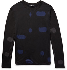 Issey Miyake Men Patterned Wool Sweater