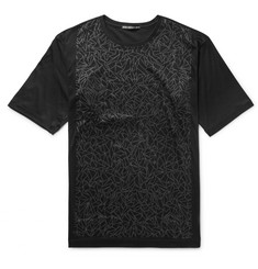 Issey Miyake Men - Slim-Fit Printed Cotton-Jersey T-Shirt