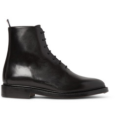 Thom Browne Whole-Cut Leather Boots