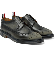 Thom Browne - Distressed Leather Longwing Brogues