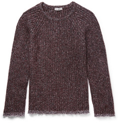 Valentino Cotton-Trimmed Wool-Blend Sweater