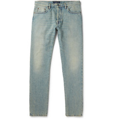 Valentino - Slim-Fit Washed-Denim Jeans