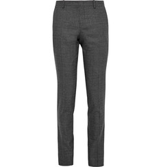 Wooyoungmi Grey Slim-Fit Slub Wool Trousers