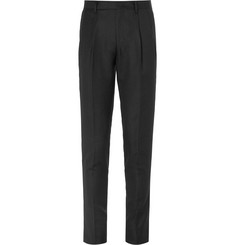 Wooyoungmi Slim-Fit Tapered Pleated Wool Trousers