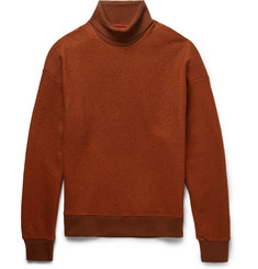 Wooyoungmi Two-Tone Wool-Blend Rollneck Sweater
