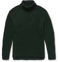 Wooyoungmi Slub Wool-Blend Rollneck Sweater