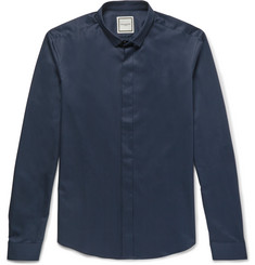 Wooyoungmi Slim-Fit Cotton-Poplin Shirt