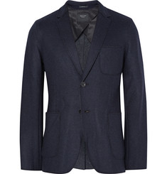 Rag & bone Woodall Unstructured Melton Wool-Blend Blazer