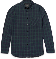 Rag & bone Beach Checked Cotton Shirt