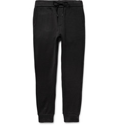 Rag & bone Jake Tapered Fleece-Back Jersey Sweatpants