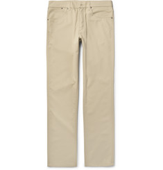 Dunhill Brushed-Cotton Twill Chinos