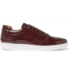 WANT LES ESSENTIELS Lennon Patent-Leather Sneakers