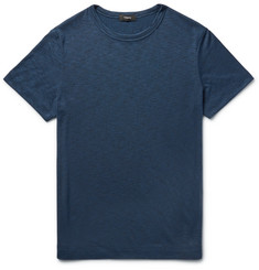 Theory - Gaskell Slim-Fit Mélange Modal-Blend Jersey T-Shirt