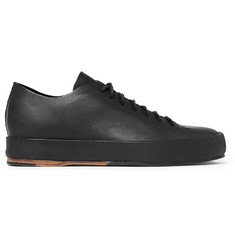Feit Shearling-Lined Leather Sneakers
