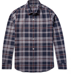 Theory - Rammis Slim-Fit Checked Cotton Shirt
