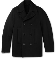 Hugo Boss - Nodin Wool-Blend Peacoat