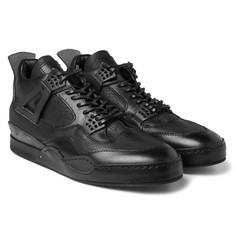 Hender Scheme - MIP-10 Nubuck-Trimmed Leather Sneakers