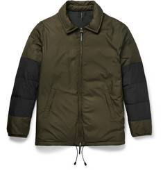 Helbers Panelled Shell Down Jacket