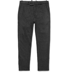Helbers Slim-Cut Cotton, Alpaca and Wool-Blend Trousers