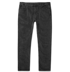 Helbers Slim-Fit Stretch-Cotton Corduroy Jeans