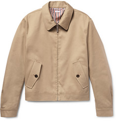 Thom Browne Cotton-Twill Harrington Jacket