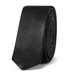 Saint Laurent Leather Tie