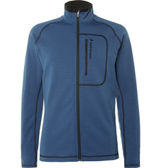 Peak Performance Fleece-Back Stretch-Jersey Mid-Layer Jacket
