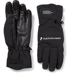 Peak Performance Chute Leather-Panelled Hipe® Core+ Gloves