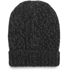 Dolce & Gabbana Ribbed Mélange Cashmere Beanie