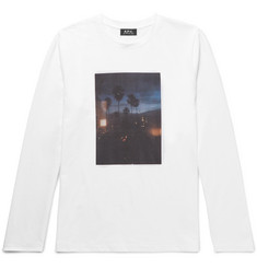 A.P.C. Slim-Fit Printed Cotton-Jersey T-Shirt