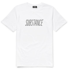 A.P.C. Substance Printed Cotton-Jersey T-Shirt