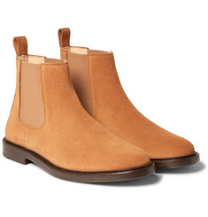 A.P.C. - Suede Chelsea Boots