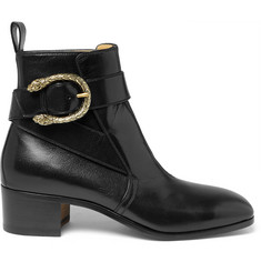Gucci - Leather Jodhpur Boots