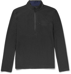 A.P.C. + Outdoor Voices Stretch-Shell Half-Zip Running Top