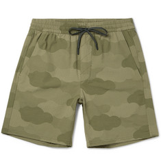 A.P.C. + Outdoor Voices Wide-Leg Camouflage-Print Ripstop Shorts