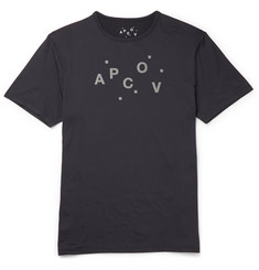 A.P.C. + Outdoor Voices Slim-Fit Printed Stretch-Jersey T-Shirt