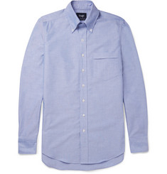 Drake's Slim-Fit Button-Down Collar Cotton Oxford Shirt