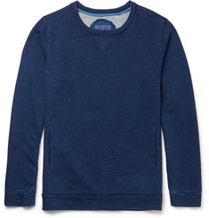 Blue Blue Japan Loopback Cotton-Jersey Sweatshirt