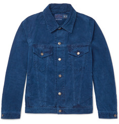 Blue Blue Japan Indigo-Dyed Cotton-Corduroy Jacket