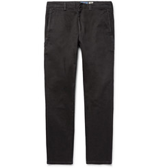 Blue Blue Japan Edo Indigo-Dyed Stretch-Denim Trousers