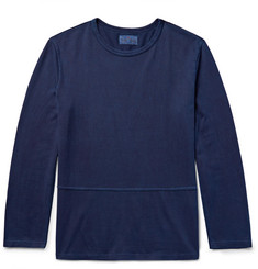 Blue Blue Japan - Slim-Fit Indigo-Dyed Cotton-Jersey T-Shirt