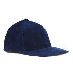 Blue Blue Japan Indigo-Dyed Cotton-Corduroy Baseball Cap