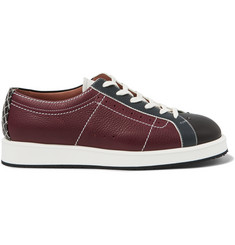 Bottega Veneta Leather Bowling Sneakers